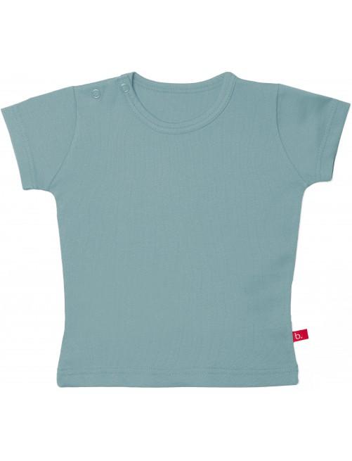 Camiseta manga corta bebé Limobasics Denim
