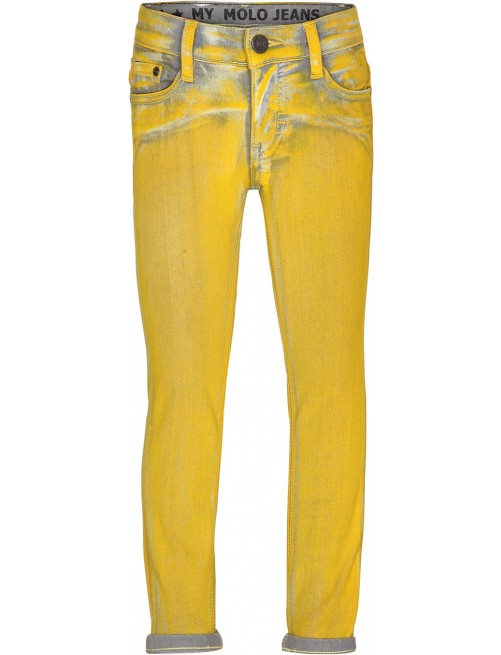 Pantalón Molo Kids Aksel Overdyed Yellow