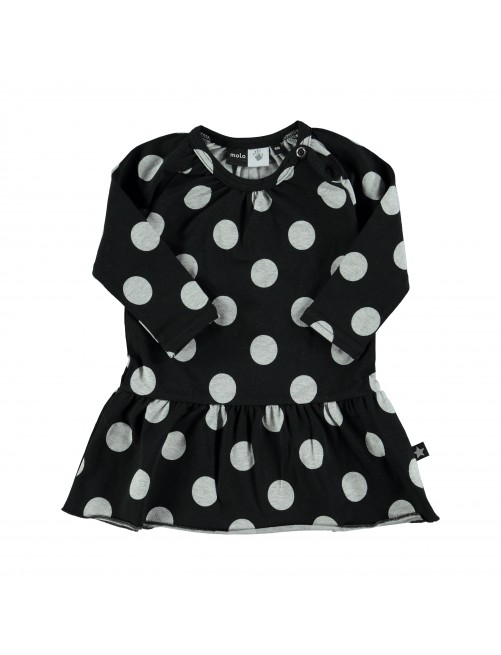 Vestido Molo Kids Cammon Big Dots