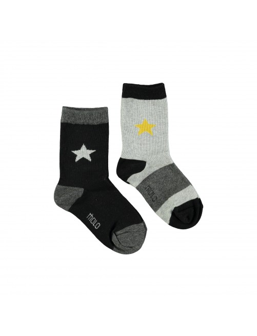 Pack Calcetines Molo Kids Nitis Yellow Star