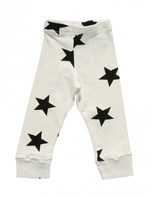 Leggings Nununu Star Leggings White