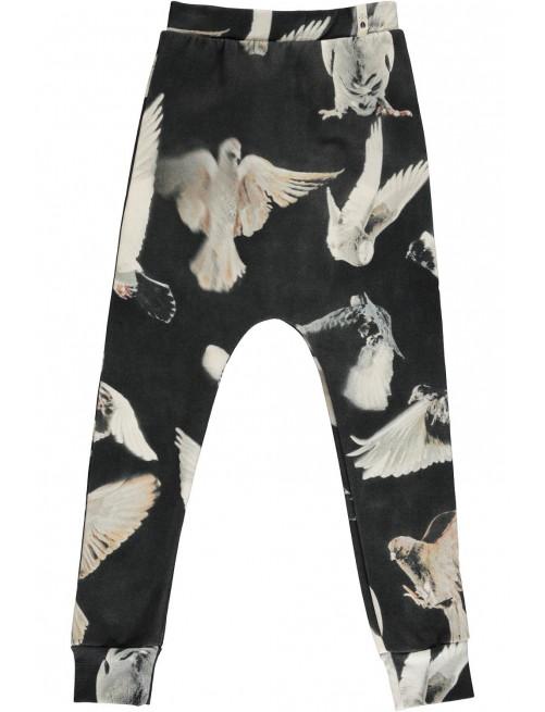 Baggy Leggings Black Birds Popupshop