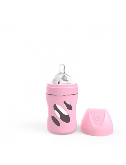 Biberon-Cristal-Twistshake-Rosa-180-Bebes-anticolicos-Accesorios-lactancia-Tienda-Puericultura-Online- Zaragoza
