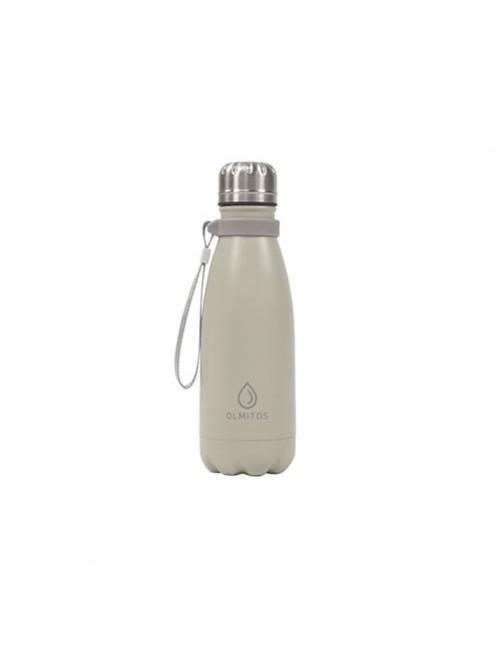 Botella-Acero-inox-Olmitos-Beige-350ml-Bebe-Accesorios-Tienda-Online-Zaragoza-Alimentacion-Liquidos-Termo-Agua
