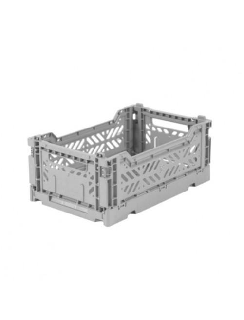 Caja-Plegable-Lillemor-Mini-Dark-Grey-Decoracion-Habitacion-Accesorios-Bebes-Tienda-Zaragoza-Online