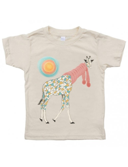 Camiseta Monikako Kids Girafee Organic