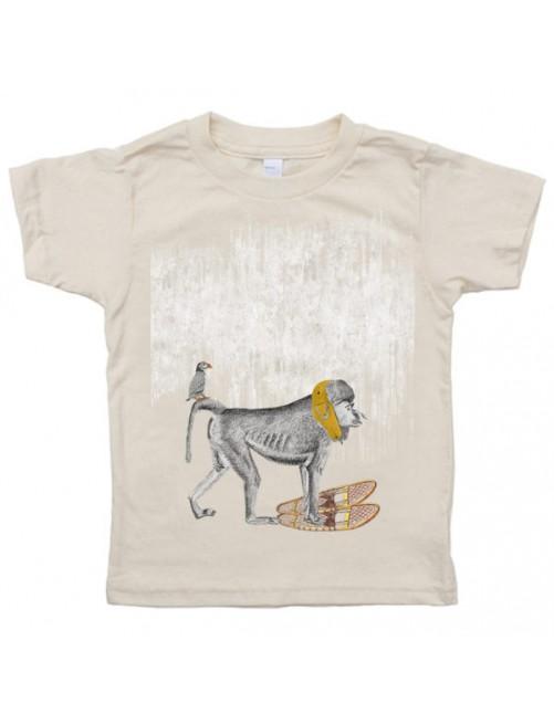 Camiseta Monikako Kids Monkey Organic