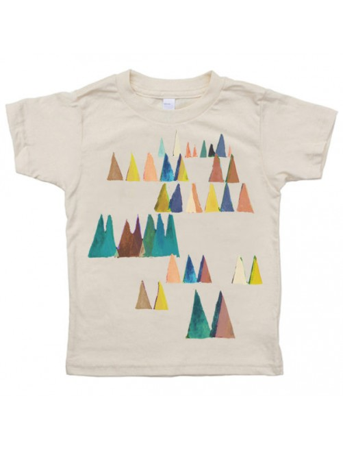 Camiseta Monikako Kids Mountains Organic