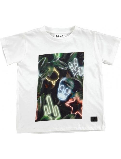 Camiseta Molo Kids Rapo White moda Infantil Zaragoza Niños Alternativa