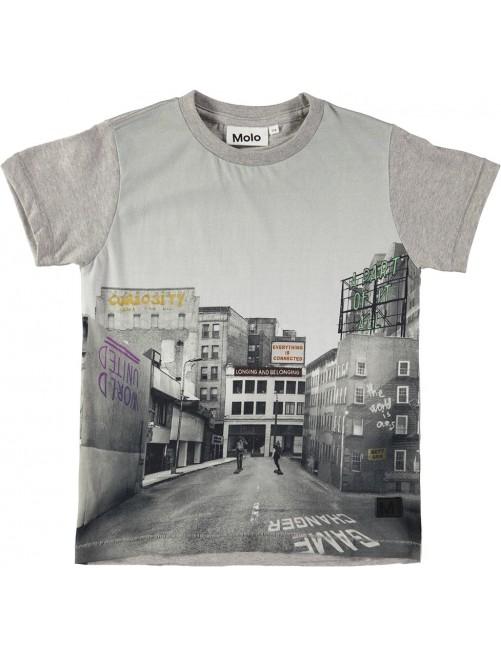 Camiseta Molo Kids raymont City Text Moda Infantil Alternativa Zaragoza tienda Online Urban Raider