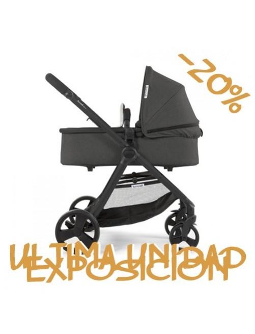 Carrito para bebé Bonarelli 300 2.0 Urban Grey.  Silla para bebé + Capazo + Silla Auto Puericultura Zaragoza 5