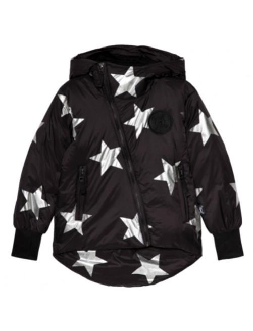 Cazadora_Nununu_Silver_Star_Down_Jacket_Negra_Estrella_Niños_Moda_Infantil_Alternativa_Tienda_Online_Zaragoza_Estilo_Dappbaby