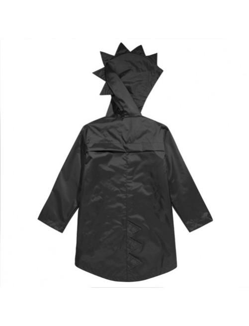 Chubasquero_Kukukid_Dino_black_Dinosaurioa_Cresta_Niños_Moda_Infantil_Urbana_Alternativa_Tienda_Online_Zaragoza-coat-black-Ropa
