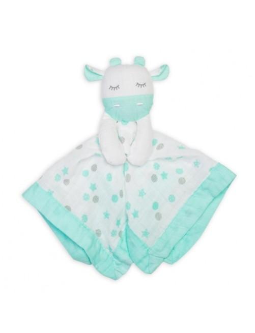 Doudou-Lulujo-Aqua-Giraffe-Muselina-Bebes-Tienda-Online-Zaragoza-Accesorios-Babyborm-Reciennacido-Mama