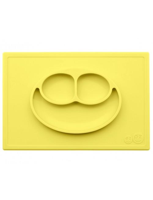 Plato The Happy Mat Lemon Ezpz amarillo blw puericultura zaragoza bebe plato silicona