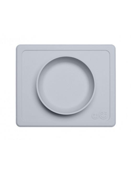 Cuenco The Happy Bowl Mini Pewter EzPz blw puericultura zaragoza plato silicona