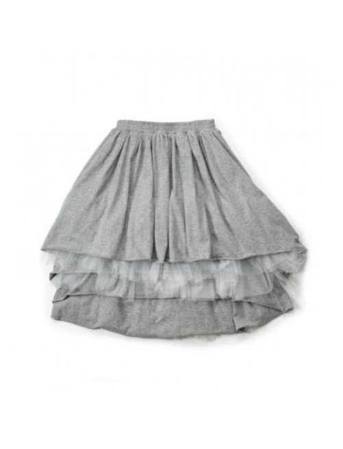 Falda Layered Tulle Grey Nununu Moda infantil alternativa zaragoza
