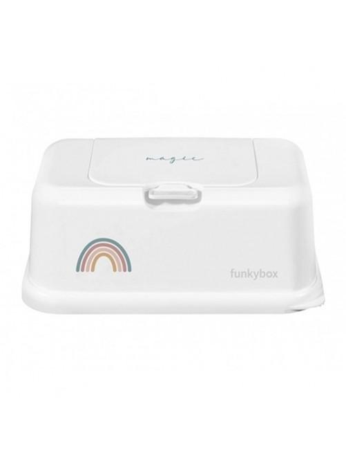 Funkybox-Cajatoallita-Magic-Arcoiris-Bebes-Accesorios-Tienda-Puericultura-Online- Zaragoza