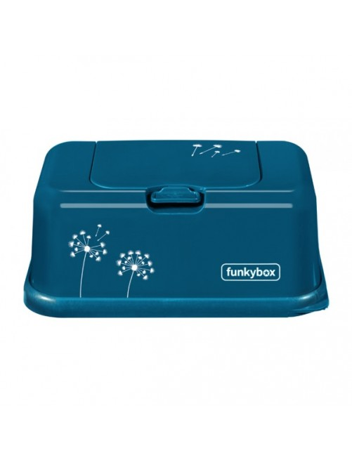 Dispensador FunkyBox Azul Petroleo Diente De Leon