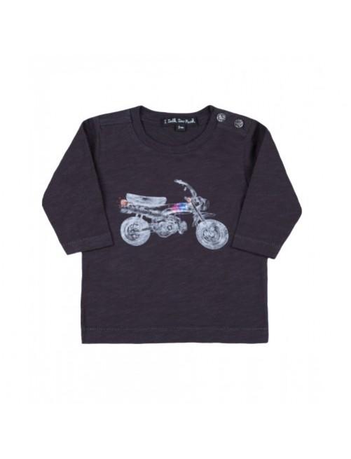 Camiseta I Talk Too Much Denis Moto moda-infantil-diferente-alternativa-divertida-comoda-original niño niña bebe