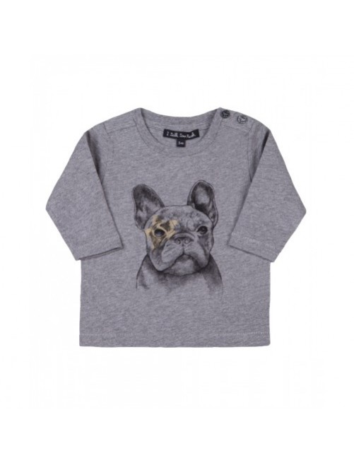 Camiseta I Talk Too Much Denis Dog moda-infantil-diferente-alternativa-divertida-comoda-original niño niña bebe