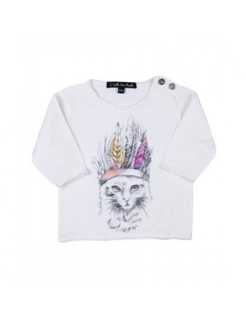 Camiseta I Talk Too Much Dune Cats moda-infantil-diferente-alternativa-divertida-comoda-original niña bebe