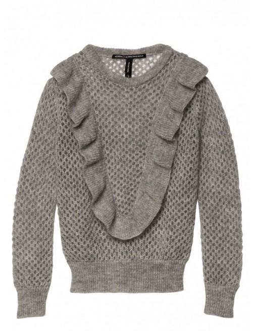 Jersey 10Days Sweater Ruffles Grey Moda Infantil Urbana Casual Zaragoza Tienda Online Niñas