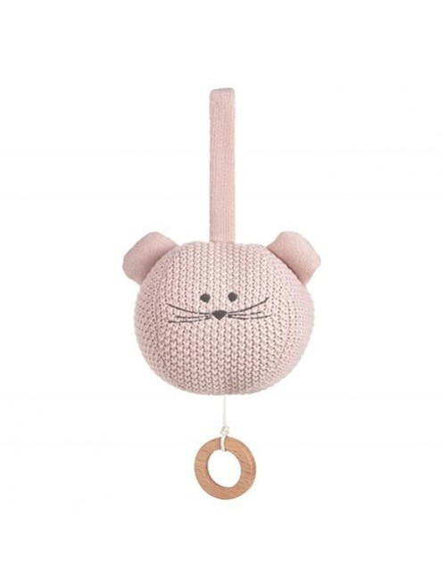 Juguete-musical-punto-mouse-rosa-lassig-gots-olmitos-bebe-accesorios-puericultura-tienda-online-zaragoza