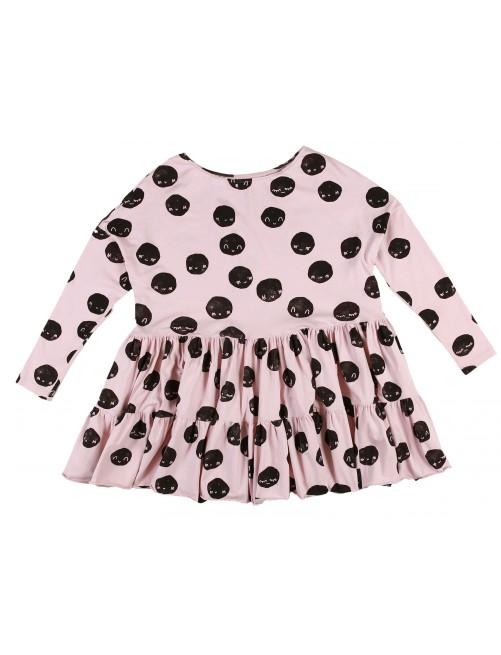 Vestido Mommy Pale Kukukid Pink Moon
