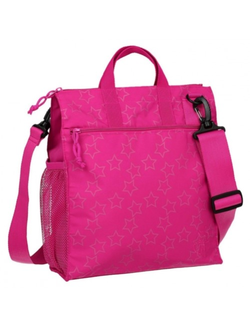 Lassig-casual-bolso-cambiador-reflective-rosa-Stars-Tienda-online-Zaragoza-mama-accesorios-carro-silla-ligera