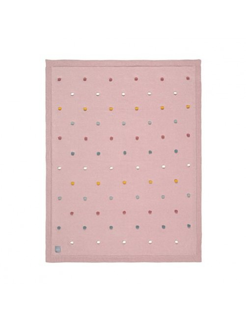 Manta-lassig-certificado-GOTS-Dots-dusky-pink-rosa-accesorios-bebes-ecofriendly-puericultura-sostenible-tienda-online-zaragoza