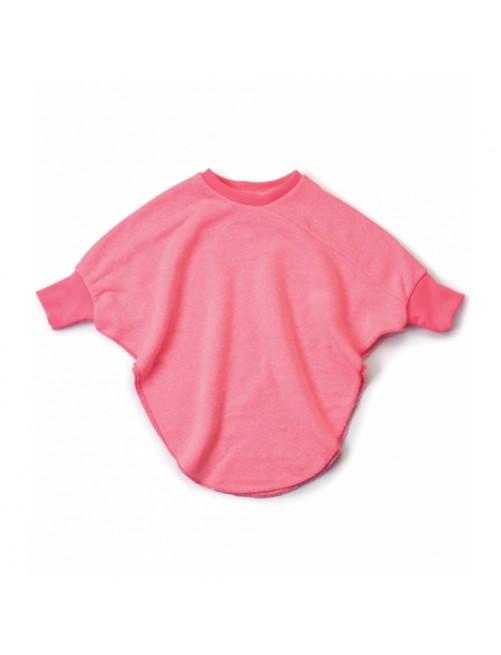 Sudadera Nununu Bat Top Neon Pink moda infantil alternativa moderna comoda original divertida
