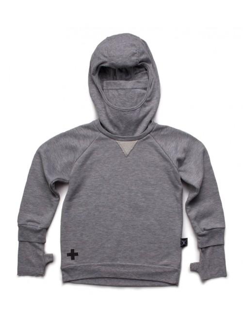 Sudadera Nununu Ninja Sweatshirt Heather Grey