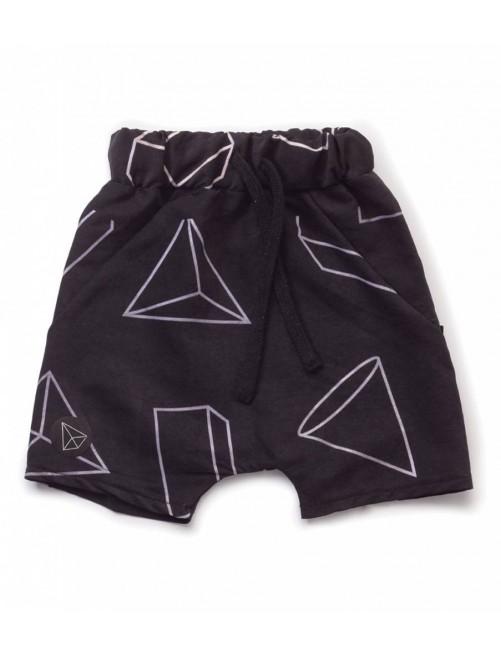 Bañador Nununu Geometric Baggy Surf Shorts Black