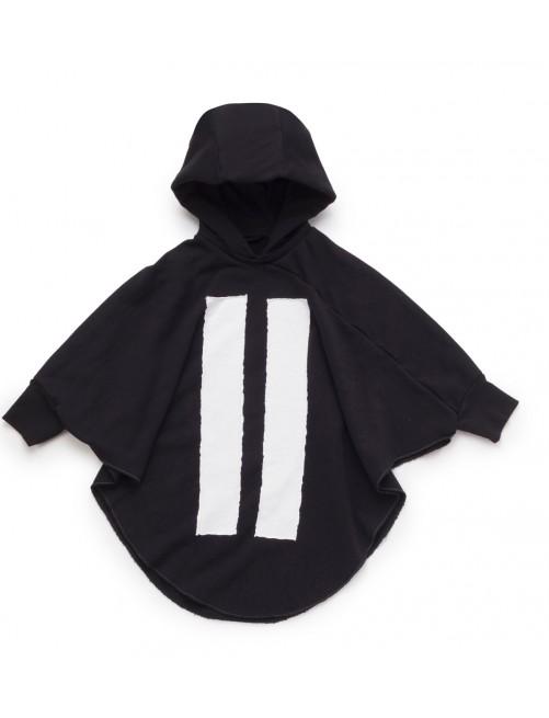 Sudadera Nununu Hooded Bat Top Black