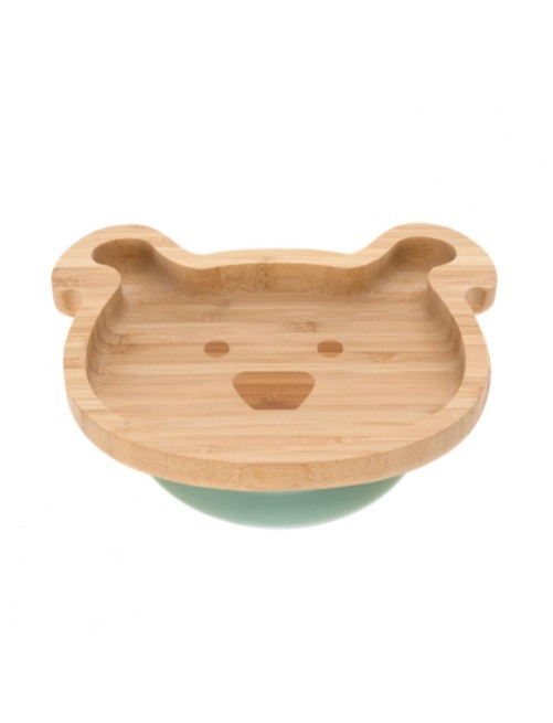 Plato-bamboo-wood-little-chums-dog-azul-bebe-accesorios-blw-alimentacion-infantil-tienda-online-zaragoza-puericultura