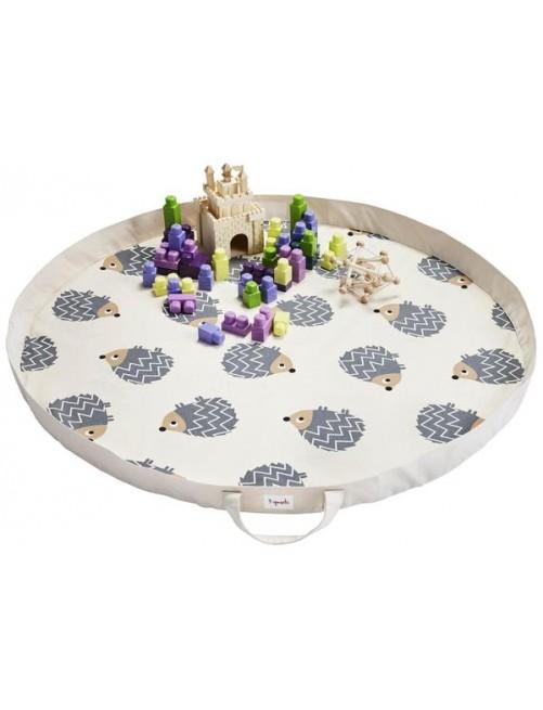 Play Mat Bag 3 Sprouts Erizo Organizador Juguetes Niños
