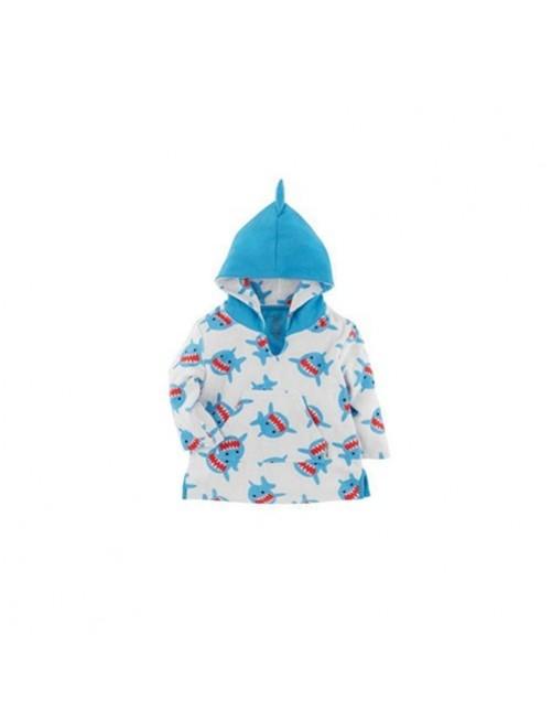 Poncho-Zoocchini-Tiburon-Shark-Bebe- Accesorios- Tienda-Online-Zaragoza-Moda-Infantil