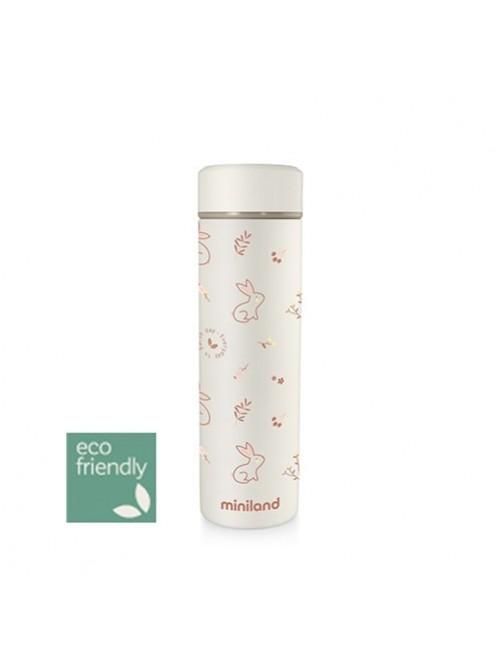 Termo-liquidos-miniland-ecofriendly-eco-friendly-Natur-thermos-bunny-naranja-accesorios-bebes-puericultura-tienda-online-zaragoza