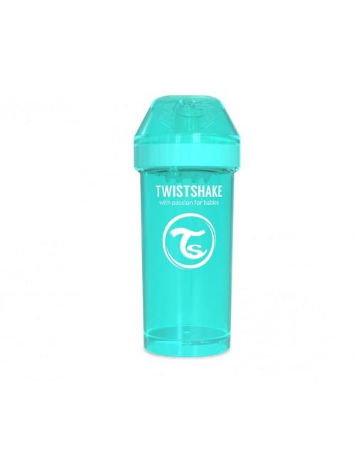 Vaso Aprendizaje Twistshake 360ml Turquesa agua Bebe Antigoteo
