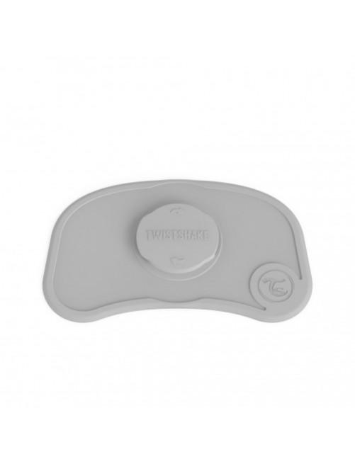 Mini Mantel Antideslizante Click-Mat Gris Pastel Twistshake  bebe zaragoza tienda online mama blw comida