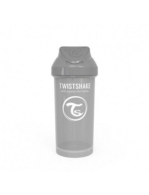 Vaso-Aprendizaje-Twistshake-360ml-Straw-Cup-Gris-Pastel-Pajita-Accesorios-Puericultura-Bebes-Antigoteo-Tienda-Zaragoza-Online