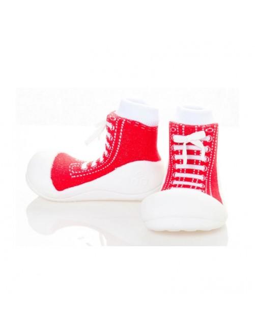 Zapatillas Sneaker rojo Attipas Zapatillas-Attipas-Sneakers-Primeros_pasos-Bebe-Puericultura-Tienda-Online-Zaragoza