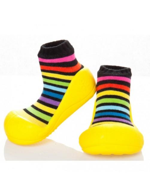 Zapatillas Rainbow Amarillo Attipas