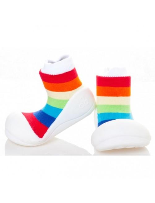 Zapatillas Rainbow Blancas Attipas