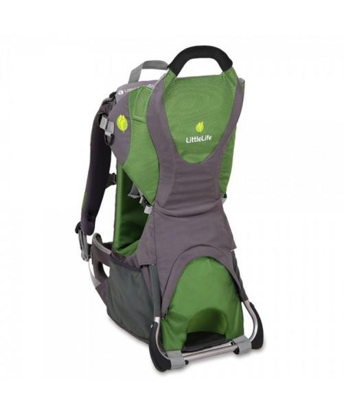 Mochila Portabebé LittleLife Adventurer Child Carrier Verde Gris