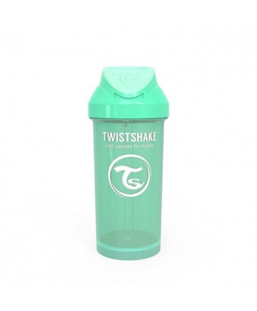 Vaso-Aprendizaje-Twistshake-360ml-Straw-Cup-Verde-Pastel-Pajita-Accesorios-Puericultura-Bebes-Antigoteo-Tienda-Zaragoza-Online