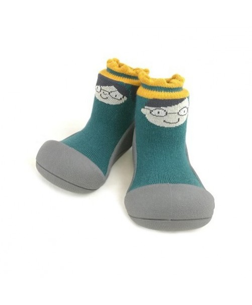 Zapatillas-Attipas-Kingqueen-Green-Zapatos-Primeros-pasos-Bebes-accesorios-Puericultura-Tienda-Online-Zaragoza-calzado-ergonomico