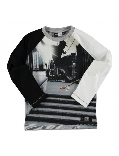 Camiseta manga larga Molo Kids Roger Skate