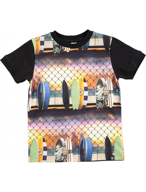 Camiseta Molo Kids Rod City Surf